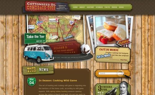 37 Beautiful Vintage And Retro Web Designs
