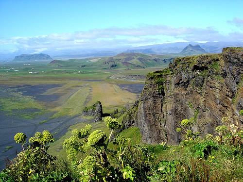 Dyrholaey landscape