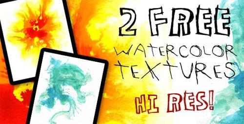 Free Hi Res Watercolor Textures