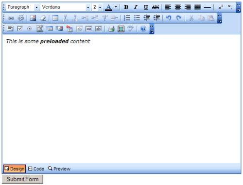 Free Rich Text Editor