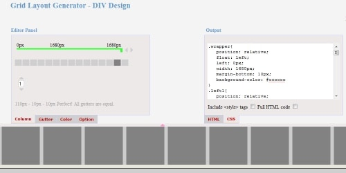 grid-layout-generator-by-pagecolumn