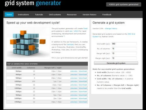 grid-system-generator