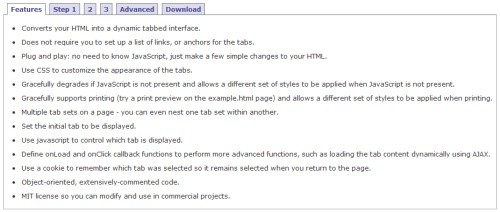 javascript-tabifier