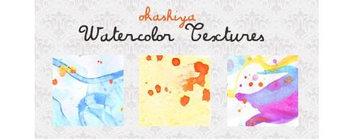 watercolor textures by ~okashi-ya