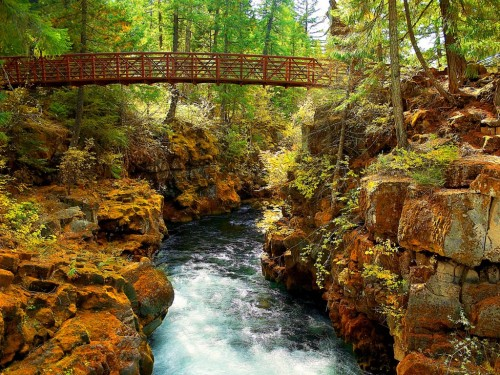 Rogue River Gorge Wallpaper