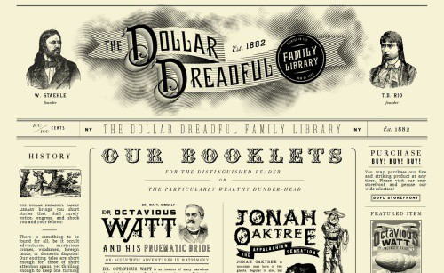 37 Beautiful Vintage And Retro Web Designs