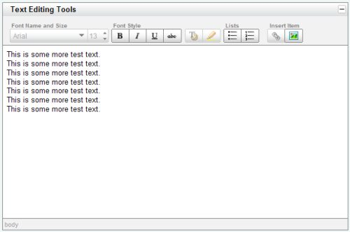 Yahoo! UI Library: Rich Text Editor