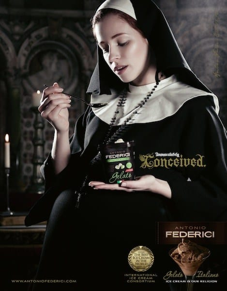 Antonio Federici Ice Cream: Immaculately Conceived
