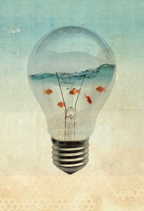 Blue sea thinking