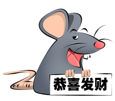 A Rat As Chinese New Year Zodiac For 2008
