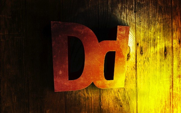 Create 3D text with some extreme lighting