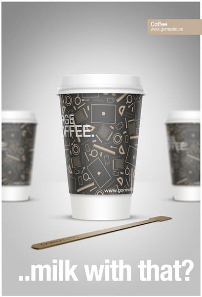 Create a Stylish coffee cup with Smart Objects