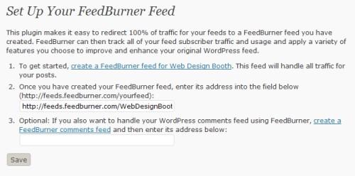 Feedburner Feedsmith plugin