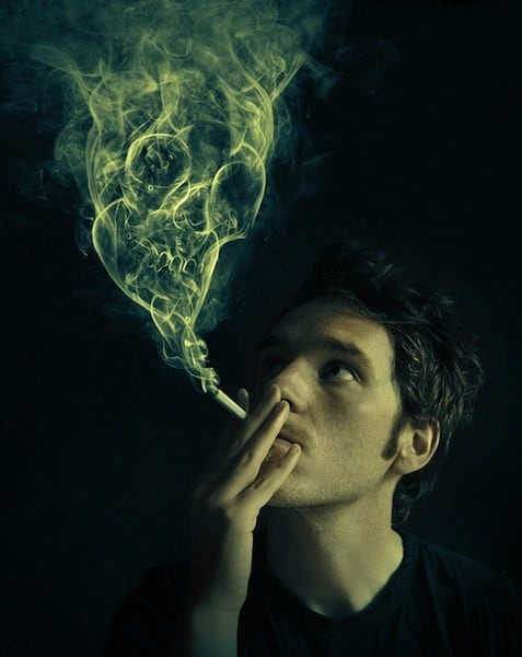 Manipulate Smoke to Create Hyper-real Images