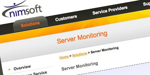 nimsoft monitoring solutions