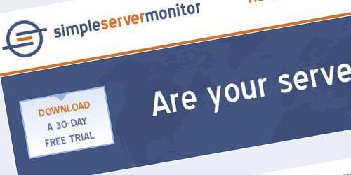 simple server monitor