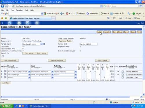 TrackerSuite.Net