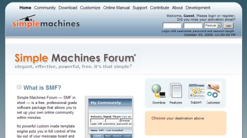 SMF: Simple Machines Forum