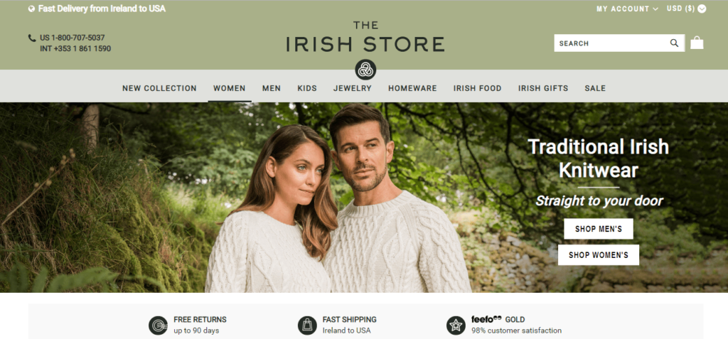 The Irish Store